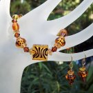 Animal Attraction-Bracelet & Earring Set