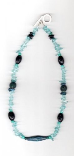 TealWood Necklace