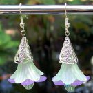 Acrylic Flower Earrings Handmade