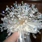 250 Swarovski Crystal Bouquet and Boutonniere