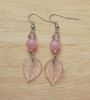 Link Leaf Drop Earrings