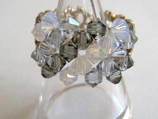 Swarovski Crystal Beads Simple Ring