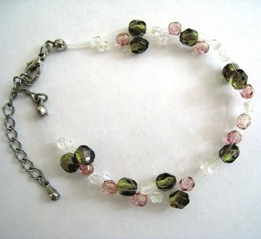 Czech Beads Cute Airy Bracelet