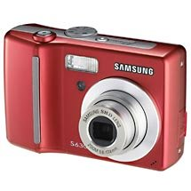 SAMSUNG SAMSUNG S630 6MP 3X OPTICAL/5X DIGITAL ZOOM CAMERA (RED)