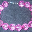 Pink w/ hematite seed beads