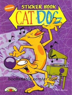 Cat Dog catdog Sticker Book Nickelodeon New
