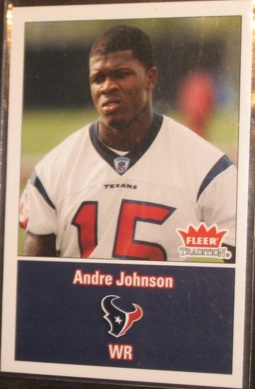 2003 Fleer Tradition Andre Johnson #277 Rookie