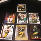 Lot of 7 Brett Favre Cards