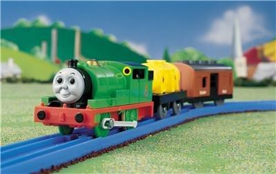PERCY trackmaster train Tomy Thomas The Tank Engine