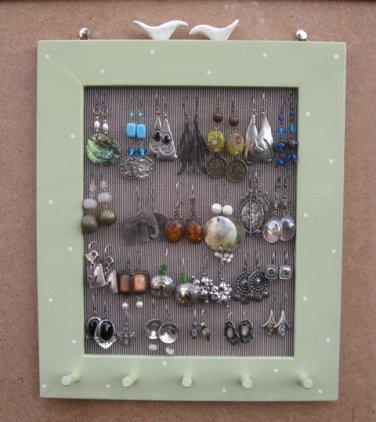 Hand Painted Jewelry Display Rack