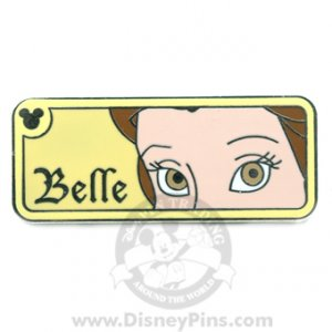WDW Disney Pin - Hidden Mickey - Belle's Eyes