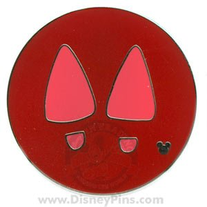 WDW - Cast Lanyard Hidden Mickey 2007 Series 2 - Minnie's Feet
