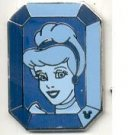 Hidden Mickey Jewel Princess - Cinderella Pin #3