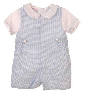 Petit Ami Infant & Newborn Boy's Shortall