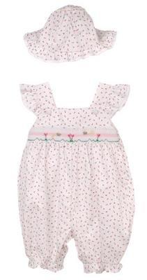 Petit Ami Infant Girl's Shortall