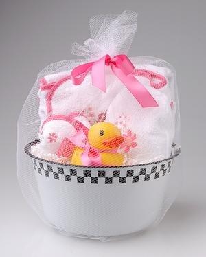 Sprinkles Baby Girl's 5 Piece Bath Set