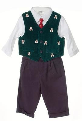 Baby Togs Infant Boys' Green Four-piece Set
