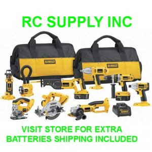 DeWalt Heavy-Duty XRP� 18V Cordless 9-Tool Combo Kit