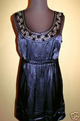 new Kensie Jeweled Blue Navy Dress size 8