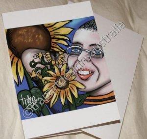 My SunFlower Friend- blank Greeting cards