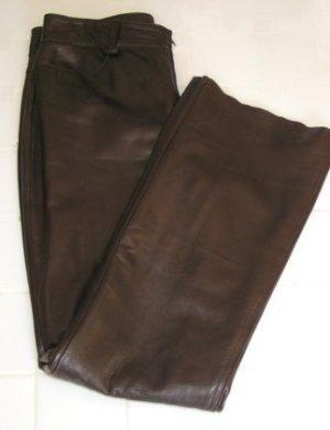 BANANA REPUBLIC Brown Leather Pants - Size 8