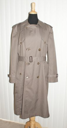 Vintage Christian Dior Monsieur Trench Coat  * SOLD