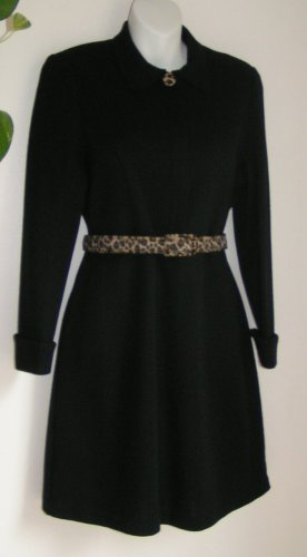 Black Career Dress by Nina Charles For Kasper ASL - Size PM