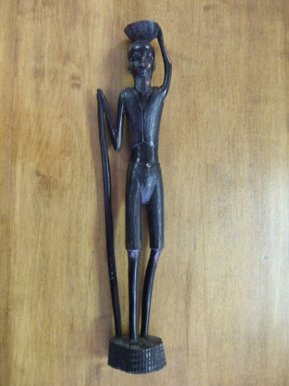 Large African Handcarved Tribal Statue