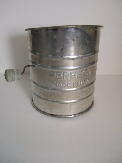 Vintage Flour Sifter Perfect