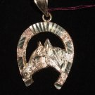 Sterling Silver Horse Shoe Pendant