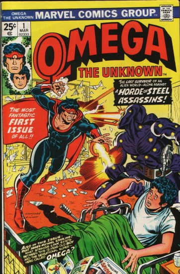 OMEGA THE UNKNOWN # 1