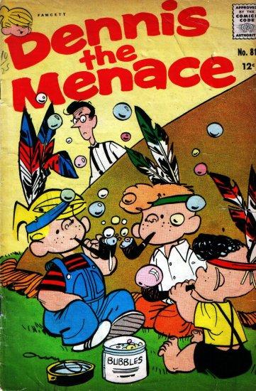 DENNIS THE MENACE (HALLDEN) # 81