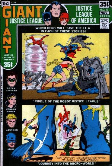 JUSTICE LEAGUE OF AMERICA (1971) #93