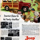 VINTAGE 1949 JEEP STATION WAGON ADVERTISMENT