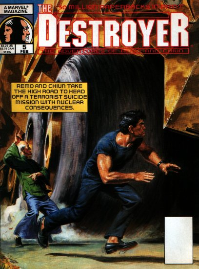 THE DESTROYER # 5