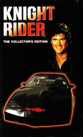 KNIGHT RIDER David Hasselhoff Collector's Edition VHS