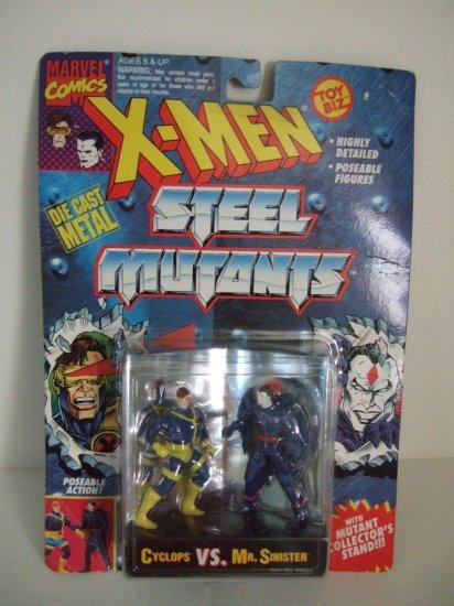Marvel Comics X-men Steel Mutants Cyclops Vs. Mr. Sinister