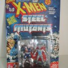 X-men Steel Mutants Cable VS. Stryfe Marvel Comics Die Cast Metal