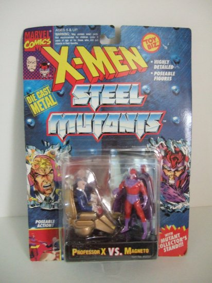 X-Men Steel Mutants Professor X VS. Magneto Die Cast