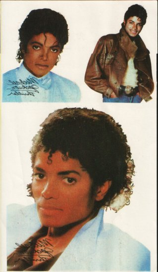 MICHAEL JACKSON Tattoos (US Thriller-Era)