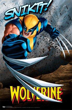 Marvel Wolverine 11X17 3-D Lenticular Poster