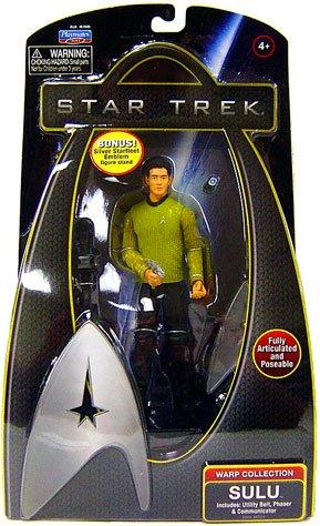 Star Trek Movie Playmates 6 Inch Deluxe Action Figure Sulu