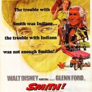 1969 Smith Staring Glenn Ford Movie Poster