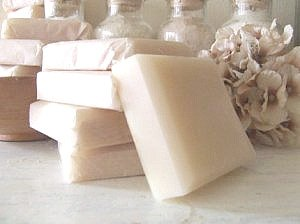 japanese pear goats milk  soap