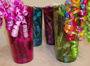 Tootsie Tumbler Candy Gift 4 Pack in Green