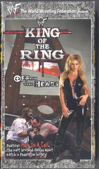 WWF King of the Ring 1998 Video NEW WWE Hell In A Cell Undertaker Mankind WCW ECW TNA