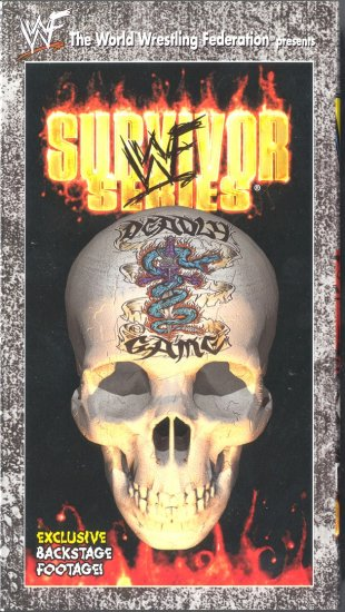 WWF Survivor Series 1998 Video NEW WWE Rock Mankind Title Tournament WCW ECW TNA
