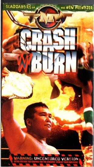 FMW Crash N Burn Video SEALED Hardcore Japan WWE WWF WCW ECW TNA