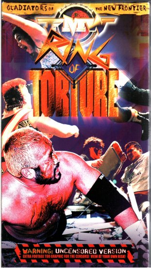 FMW Ring of Torture Video SEALED Hardcore Japan WWE WWF WCW ECW TNA