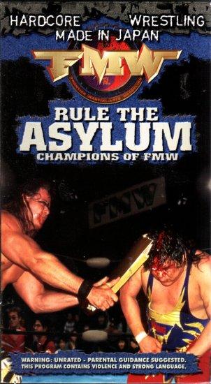 FMW Rules Asylum Video SEALED Hardcore Japan WWE WWF WCW ECW TNA